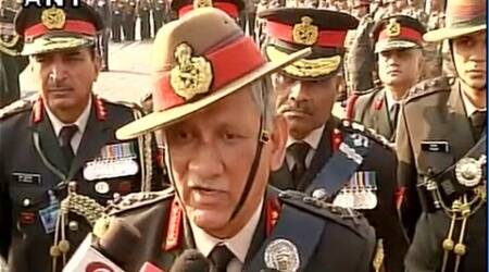 Army Chief Bipin Rawat: Those displaying Pak, ISIS flags in Kashmir to face harshaction