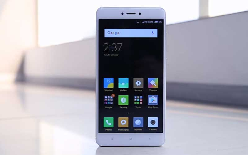 Xiaomi Plans To Unveil The Redmi Note 4X On Valentine's Day