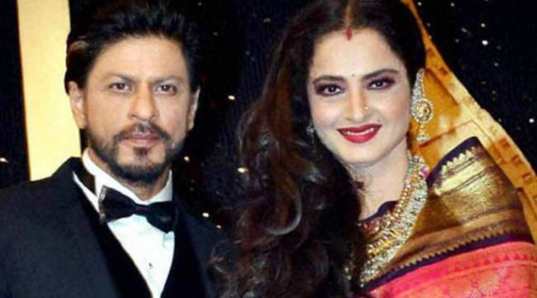 Rekha, Shah Rukh Khan, Shah Rukh Khan awards, Shah Rukh Khan Yash Chopra Memorial Award, Yash Chopra Memorial Award srk, Rekha shah rukh khan