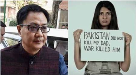 Gurmehar Kaur faces rape threat, Minister Rijiju asks who's polluting her mind