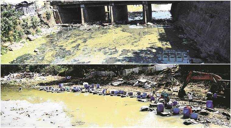 Part of Mithi river in Powai, Aarey lake being illegally reclaimed, activist writes to govt
