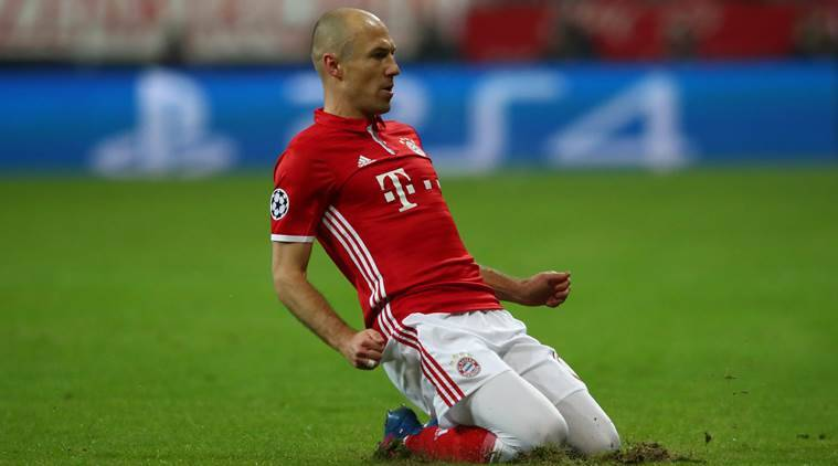Robben: I will leave Bayern at end of the season