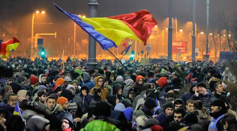 protest, romania protest, romania, romania news, romania unrest, romania politics, world news