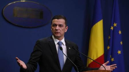 Romanian lawmakers oust Prime Minister Sorin Grindeanu in no-confidence vote