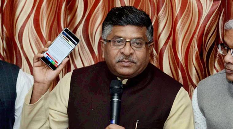 BHIM App, BHIM App and Income tax payment, BHIM APP news, Income tax payment news, Prime Minister Narendra Modi, Ravi Shankar Prasad, Digital India, India news, National news