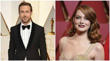 ryan gosling, emma stone, la la land, ryan gosling la la land, la la land oscars, damien chazelle oscars, oscars 2017, academy awards 2017, indian express, indian express news, entertainment news, hollywood