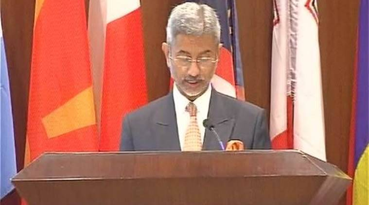 Foreign Secretary S Jaishankar, Jaishankar on terrorism, Jaishankar on nuclear terrorism, world terrorism, terrorism threat, Jaishankar on terrorism threat, indian express news