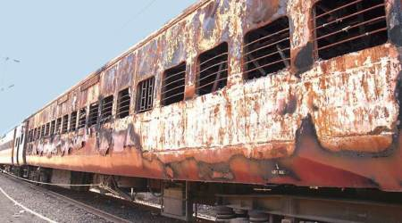 What is the 2002 Godhra train burning case?