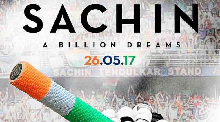 Image result for sachin a billion dreams poster