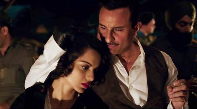 rangoon review, rangoon movie review, kangana ranaut, saif ali khan, rangoon review image