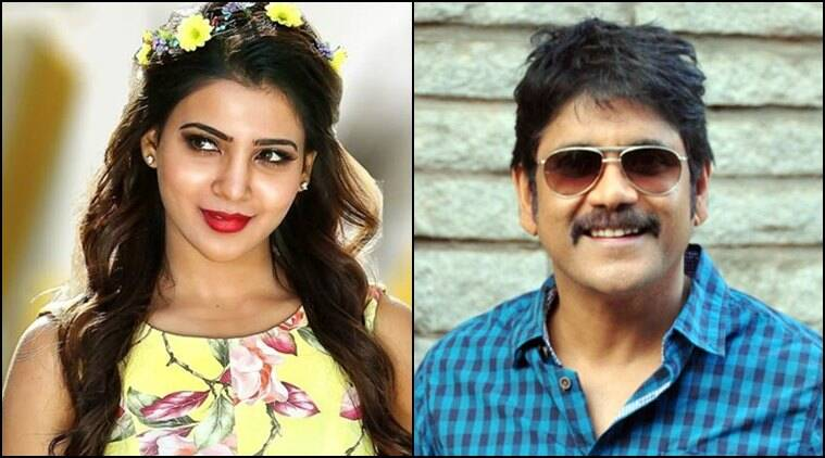 Tollywood stars Samantha and Nagarjuna