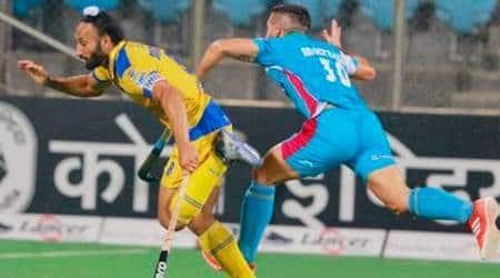 hockey india, india hockey, hockey india league, hil 2017, punjab vs up, punjab vs up hockey, sardar singh, hockey news, hockey