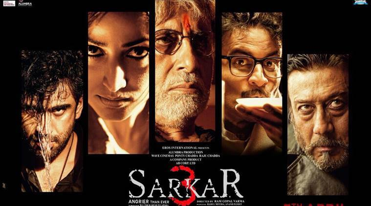 Sarkar 3, Amitabh Bachchan, Manoj Bajpayee, Amit Sadh, Yami Gautam, Jackie Shroff