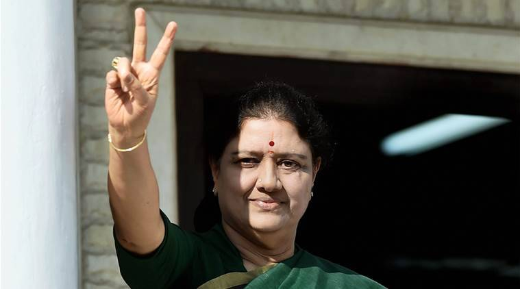 sasikala, tamil nadu, Sasikala swearing-in, sasikala suspense, Jayalalithaa, tamil nadu chief minister, Tamil nadu CM, aiadmk, aiadmk sasikala, vk sasikala, pannerselvam, jayalalithaa, jayalalithaa's death, jaya, sasikala jayalalithaa, tamil nadu news, indian express news