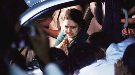 Sasikala, Sasikala jailed, Sasikala news, tamil Nadu news, AIADMk, AIADMK news, Sasikala convicted, Sasikala conviction, India news