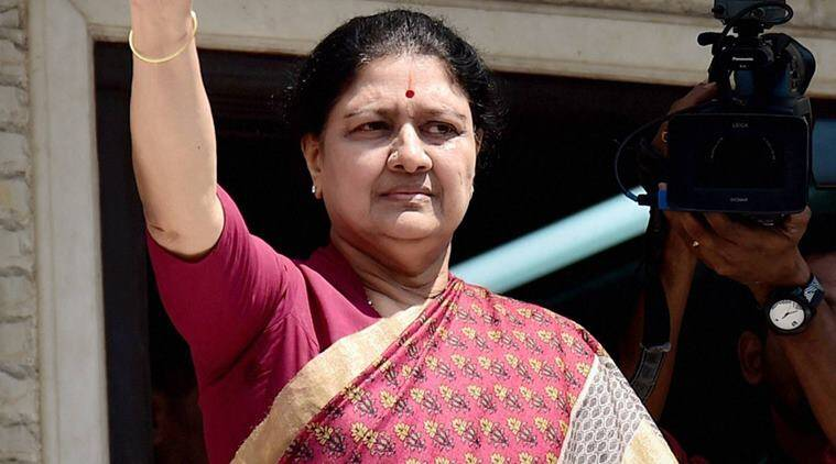 Sasikala, Sasikala natarajan, AIADMK, Tamil Nadu, Tamil nadu government, india news, indian express news