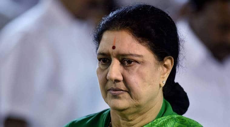 VK Sasikala applies for 15-day parole to attend husband Natarajan Maruthappa last rites