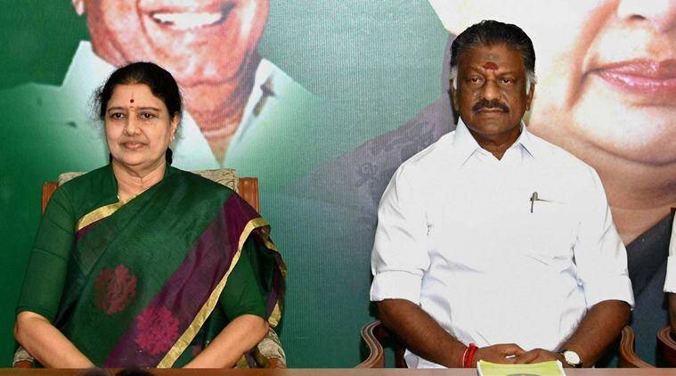 O Panneerselvam, Election Commission, V K Sasikala, AIADMK office, Tamil Nadu news, National news, latest news, India news, National news, R K Nagar assembly bypoll,