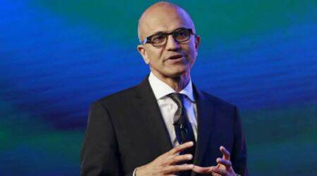 Microsoft, Satya Nadella, Microsoft Live, Satya Nadella Live, Microsoft Live blog, Satya Nadella speech, future decoded 2017, Satya Nadella live updates, satya nadella future decoded, future decoded, latest nadella speech live, microsoft india live, chandrababu naidu nadella, microsoft andhra pradesh, microsoft cloud computing india, cloud computing microsoft, tech news, latest tech news, microsoft india news, nadella in india, technology, technology news