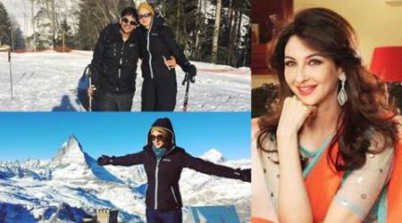 Saumya Tandon's Swiss honeymoon is all about snow and adventure. See pics