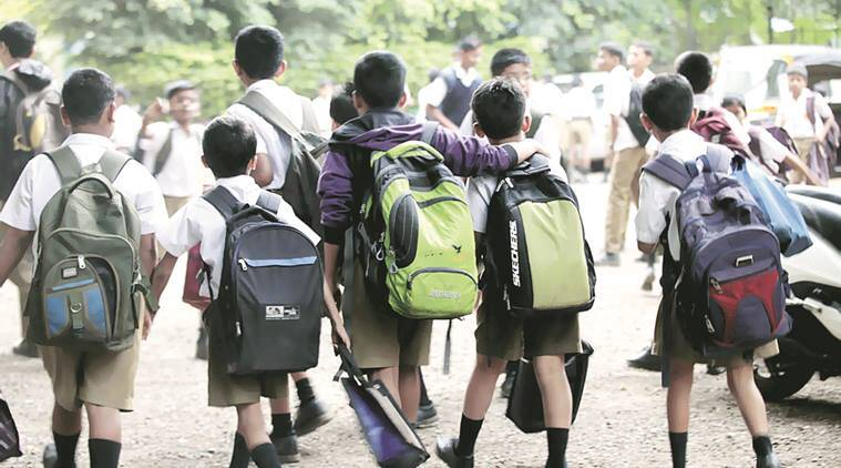 delhi schools, school education, delhi enrolment, delhi students, enrolment ratio, india education, school enrolment ratio, education news, delhi news, indian express news,