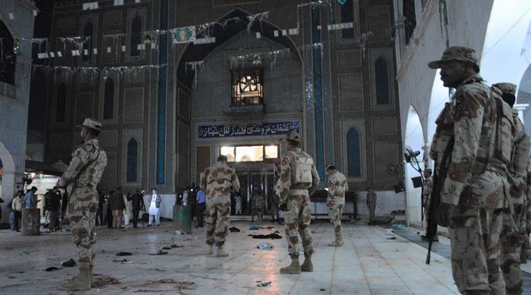Pakistan terrorist attack, Pakistan shrine attack, Pakistan Sehwan attack, Lal Shahbaz Qalandar, Pakistan shrine terrorist attack, Nawaz Sharif terrorist attack, ISIS claims Pakistan attack, Suicide bombing Sehwan, World new