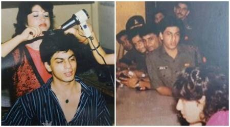 Shah Rukh Khan's look from his Fauji days is giving us a total throwback to his TV career