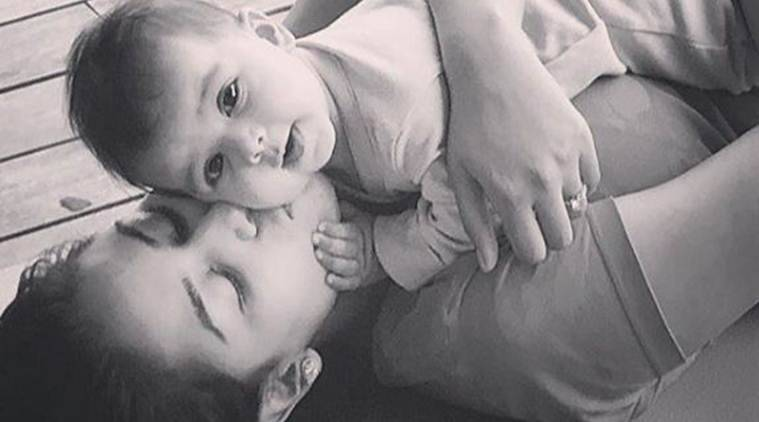 Here is Shahid Kapoor, Mira Rajput's baby Misha's first picture.