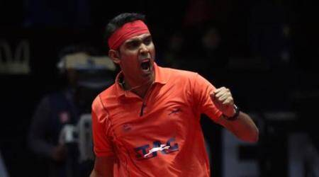 sharath kamal, table tennis, tt, sharath kamal tt, sharath kamal table tennis, sharath kamal ittf indian open, ittf indian open, table tennis news, sports news