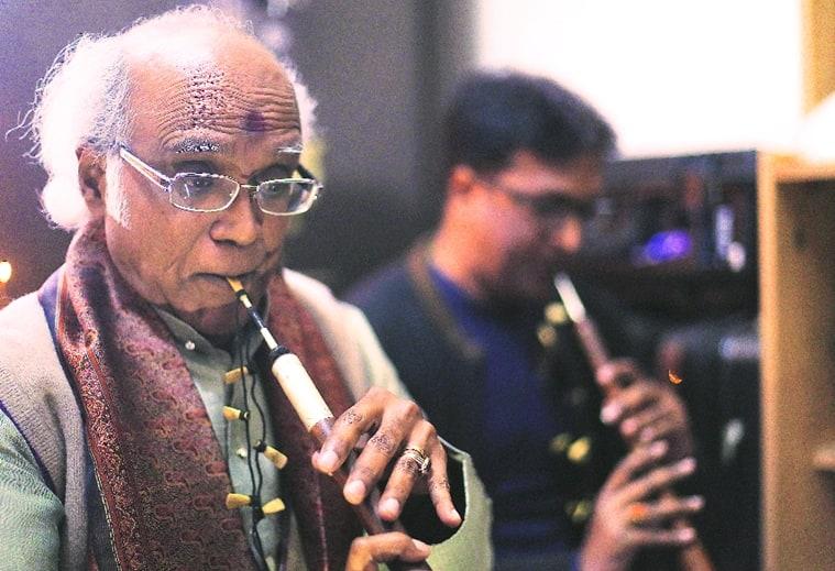 Gone with the wind: Pandit Daya Shankar.