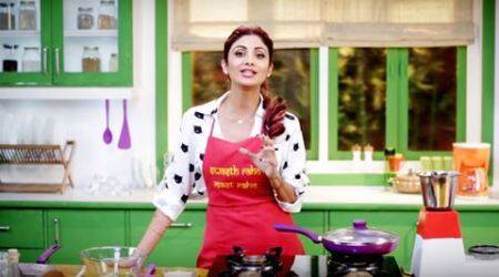 shilpa shetty, shilpa shetty kundra, shilpa shetty recipes, shilpa shetty nutrition, shilpa shetty oats chilla, oats chilla recipe, how to make oats chilla recipe, healthy recipes, indian express, indian express news