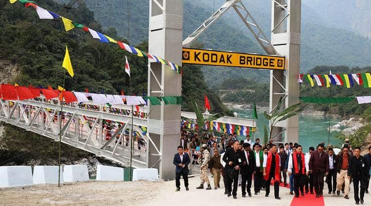 Siang, Tsangpo, Brahmaputra, river siang, river brahmaputra, siang bridge, siang first bridge, china border, close to international border, india news, indian express news