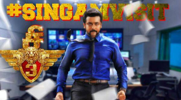 Suriya's Singam 3 releasing worldwide on Thursday