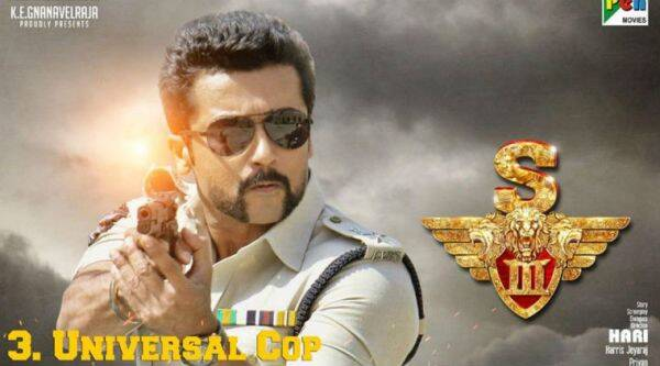 Singam 3 movie review, Singam 3 review, Si3, Si3 review, suriya, suriya si3, suriya film, suriya Singam 3, Singam 3 release