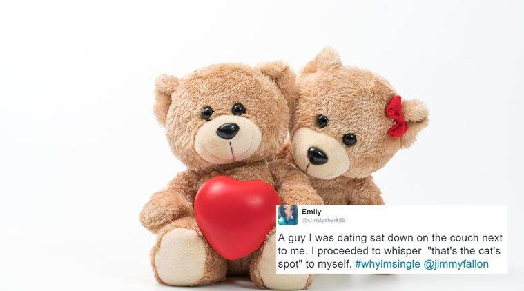 The two lovers embracing teddy bear toy sitting.