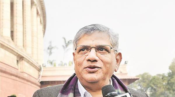 cpim, communist party of india, sc, supreme court, ayodhya land dispute,cpim general secretary sitaram yechuery, bjp, court, ayodhya news, cpi news, yechury news, bjp news, india news, indian express news