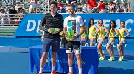Raonic's withdrawl hands Sock the title