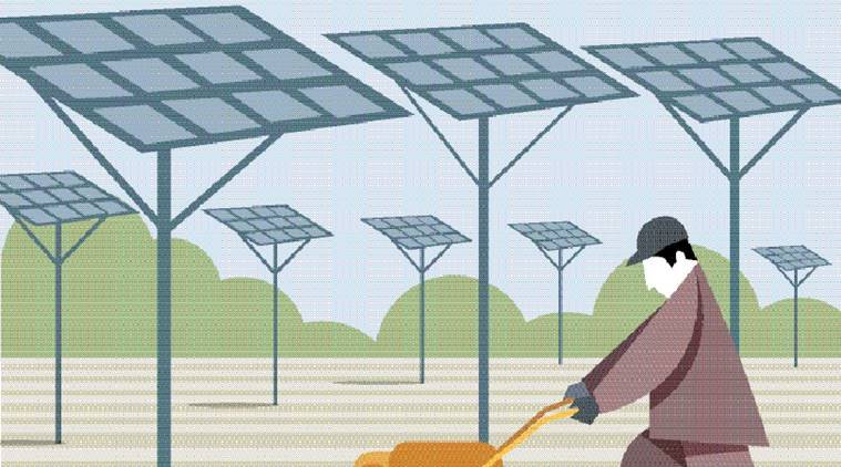 solar energy, solar energy in India, solar industry in India, International Solar Alliance,100 gigawatts of solar energy, paris climate change, India business news, India news, Indian express
