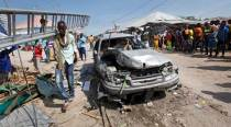 Blast leaves 34 dead in Mogadishu marketplace in Somalia