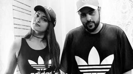 Sonakshi Sinha to rap with Badshah? Well, that's what she just dropped a hint about, see pic