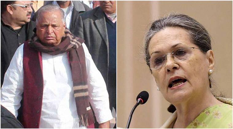 mulayam singh yadav, sonia gandhi, akhilesh yadav, rahul gandhi, congress, SP, samajwadi party, UP elections, assembly elections 2017, UP elections 2017, UP polls, elections 2017, decision 2017, india news