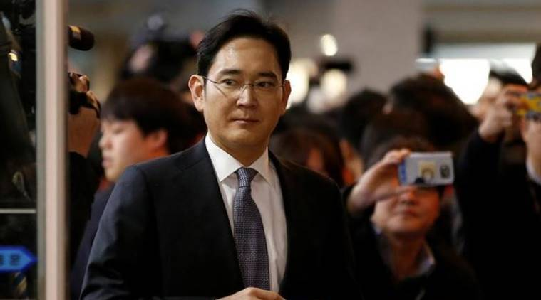 Samsung, Samsung chief arrested, Jay Y Lee, Samsung chief Jay Y Lee, Samsung chief Jay Y Lee arrested, Samsung Lee, Jay Y Lee corruption, samsung corruption, samsung corruption charges, Sasmsung group, samsung electronics, Park Geun-hye, South korean president, Park Geun-hye impeachment, technology news, tech news, indian express news
