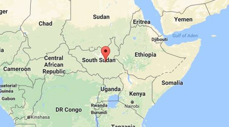 South Sudan Rebels Accuse Egypt Of Bombing Raid Drawing Denials - Map of egypt and sudan