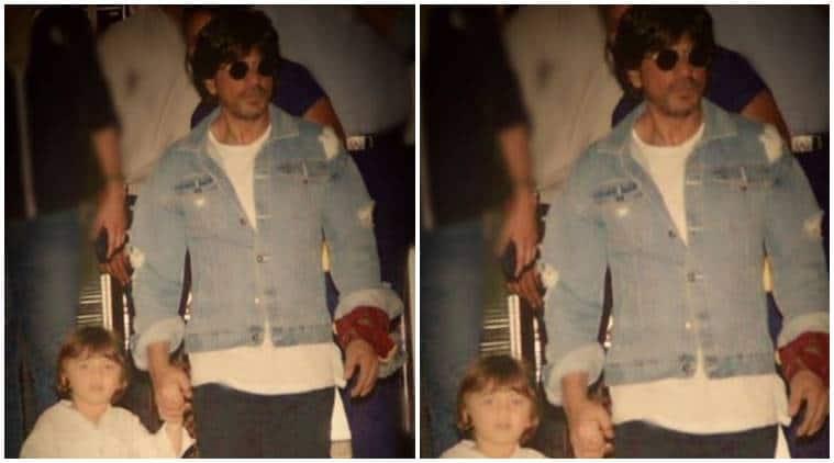 Shah Rukh Khan, AbRam, SRK son, SRK Abram, SRK abram image