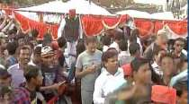 WATCH: Stage collapses before Akhilesh Yadav, Rahul Gandhi's rally in Allahabad