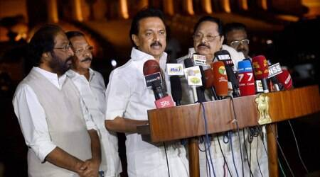 DMK stages walkout in protest against Speaker P Dhanpal