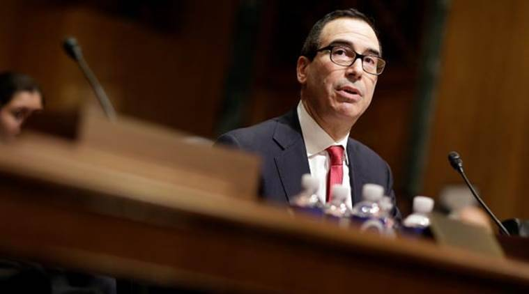 US Tresury Steve Mnuchin says premature to comment on sanctions against Saudi Arabia
