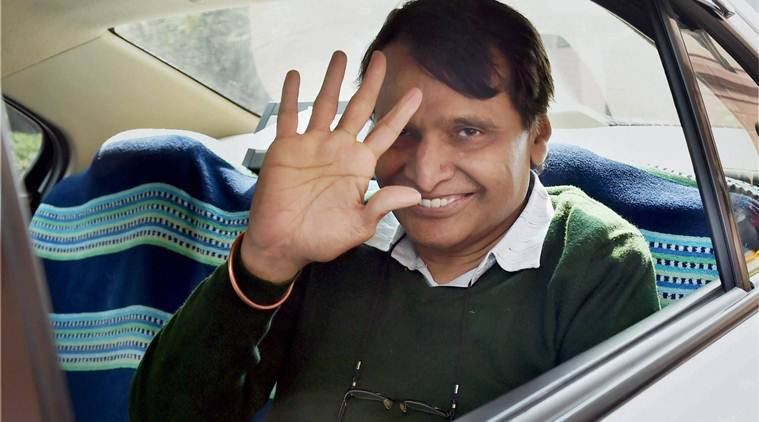 railway stations redevelopment, Suresh Prabhu, Suresh Prabhu video conferencing, Suresh Prabhu railway station redevelopment, railways minister, indian railways, railways news, india news, latest news, indian express