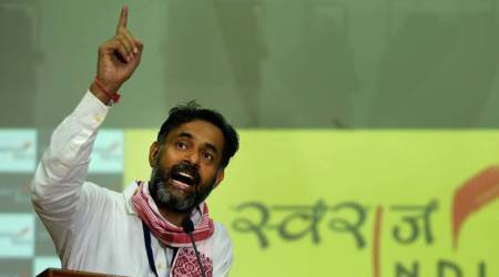 AAP kept double accounts, dodged tax authorities, says Yogendra Yadav