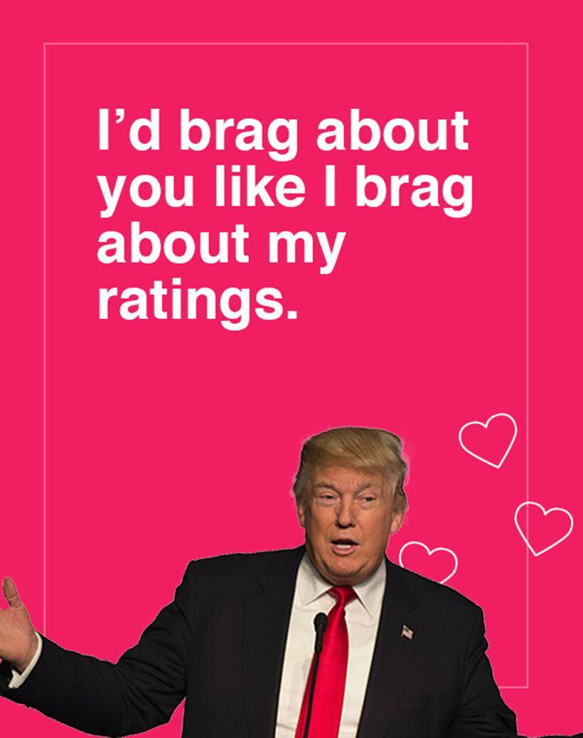 Photos These Donald Trump Valentine S Day Cards Are Brilliant